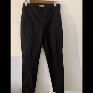 Everlane Black Cotton Pull Up Pants